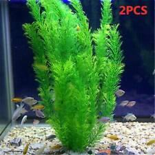 """13"""" Green Artificial Plastic Plants Grass Fish Tank Aquarium Ornament Decoration"""