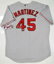 16d3f24bc Pedro Martinez Autographed Grey Boston Red Sox Majestic Jersey- Beckett  Auth  4