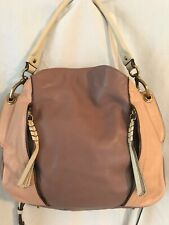 Oryany handbag large leather 3 tone beige