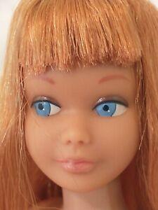 Vintage Barbie sister SKIPPER TITIAN/COPPER PENNY straight leg Mattel 1960s