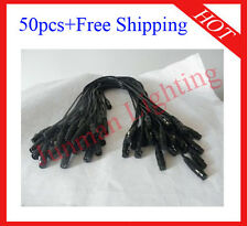 50pcs 1 Meter 3 Pin DMX Cable Lighting DJ Stage XLR Cable Free Shipping