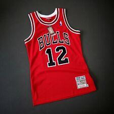 100% Authentic Michael Jordan Mitchell Ness 1990 12 Bulls Jersey Size 36 S Mens