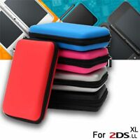 Card Storage Protective Bag Carry Case Hard Shell for Nintendo NEW 2DS XL LL
