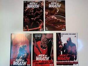 Men of Wrath #1-5 Complete mini-series (Marvel/Icon, 2014 NM