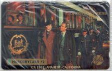 RARE MINT Mercurycard Phonecard - Orient Express - ICA 1991 Anaheim ,California