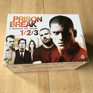 coffret 16 DVD PRISON BREAK intégrale des saisons 1 2 3 - VF