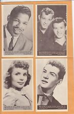 1959 NU CARDS  SANTO & JOHNNY NO:40  ROCK & ROLL   Ex MINT to NEAR MINT