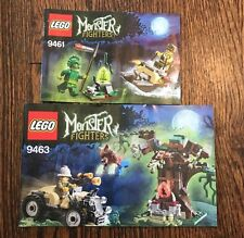 INSTRUCTION Manuel ONLY LEGO Monster Fighters 9461 9463 manual books