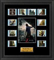 World War Z (2013) Film Cell Memorabilia FilmCells Movie Cell Presentation