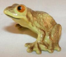 Hagen-renaker Miniature Ceramic Animal Figure Kissing Frog 4027