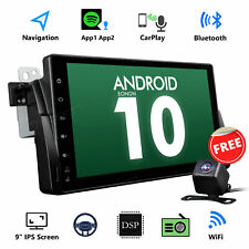 """Android 10.0 9"""" Car GPS Navi Radio Stereo WiFi Player for BMW E46 320 323 325 M3"""