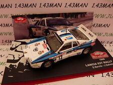 voiture 1/43 IXO altaya Rallye Monte Carlo : LANCIA 037 RALLY 1986 Servia