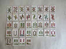 altes antikes Miniatur Kartenspiel