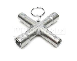 4-Way Water Key