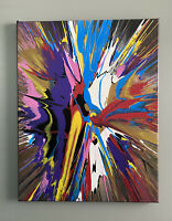 Original Abstract Acrylic Painting On Canvas 16x20, Modern Art, Contemporary Art
