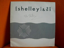 VINYL 33T – PETE SHELLEY : HEAVEN & THE SEA – EX BUZZCOCKS – AUTOGRAPH DEDICACE