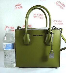 Michael Kors Mercer Medium Saffiano Leather Satchel Crossbody Bag, Purse