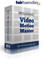 Digitalartikel HD VIDEO MOTION MASTERS +2GB 120 HD+ Background Videos E-LIZENZ