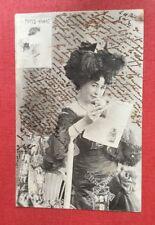 CPA. 1903. Journaux Comiques.  PARIS VIVANT. Jeune Femme. Moulin. Coiffure.
