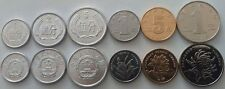 CHINA COMPLETE FULL COIN SET 1+2+5 Fen +1+5 Jiao +1 Yuan 1986-2015 UNC LOT of 6