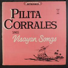 "PILITA CORRALES: Visayan Songs LP (Philippines, 2"" split spine) International"