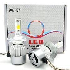 2017 CREE LED 880W H4 9003 Headlight Conversion Kit H/L Beam Bulbs 6000K