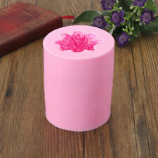 Heart Rose Silicone Candle Mold Soap Molds DIY Craft Clay Chocolate Candy