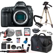 Canon EOS 5D Mark arranque Bundle 32GB Cuerpo De Cámara IV Micrófono Kit De Bolsa De Trípode
