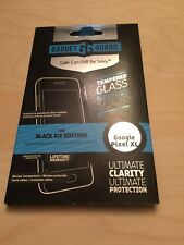 Google Nexus Pixel Xl Gadget Guard Black Ice Tempered Glass Screen Protector New