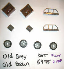Old Brown Grey Box 30150 30155 6583 30165 4 LEGO SET 5975 7419 5988 5986 7414