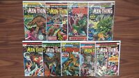The Man Thing #7-15 (1974 series) (LOT OF 9)