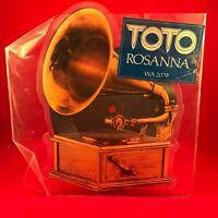 "TOTO Rosanna 1983 UK 7"" Shaped vinyl PICTURE DISC single EXCELLENT CONDITION"