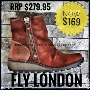 Fly London MONG Brick 37 - Brand New NOW $149 with FREE SHIPPING!!!