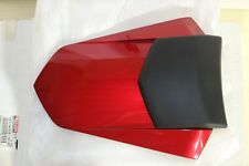 Yamaha Rear Seat Cowl Candy Red with Soft Black Pad 2007 YZF R1 Genuine OEM Part