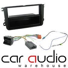 VW Touran 2004 On Car Stereo S/Din Fascia & Steering Wheel Interface