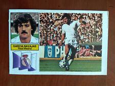 Cromo García Navajas baja liga 82 83 ediciones este temporada 1982 1983 fútbol