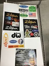 Lot Vintage Music Miscellaneous Stickers Decals G1.10