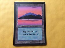 Misprint BETA ISLAND Gray-Border Discolored Error MTG Magic Card