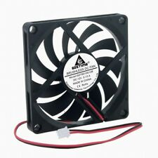 5Lots Brushless DC Cooler Fan 2Pin 12V 80x10mm 80mm 8cm Cooling For PC Computer