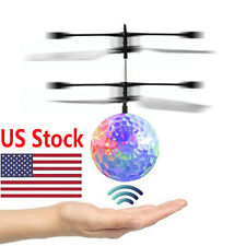 RC Flying Ball Drone Helicopter Ball Built-in Shinning LED Lighting USA Seller