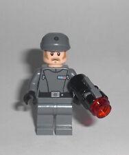 Lego Star Wars Imperial Officer Hoth Battle pack Figur grau Soldat Offizier Neu