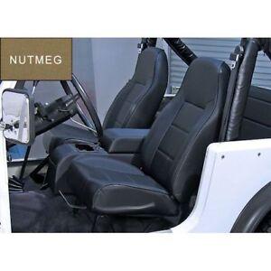 For Jeep Wrangler Cj Yj Tj 76-02 New Front Bucket Seat Nutmeg  X 13401.07