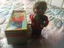 Vintage Tinplate Clockwork Bartender Toy, Nomura  Toys (T.N.) Co Japan. VGiB
