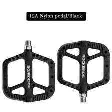 RockBros Lightweight MTB Bike Pedals Nylon Fiber Bicycle Platform Pedals 9/16''