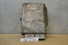1998 Chrysler Sebring Avenger Engine Computer Unit ECU 4606278AJ Module 09 11D8