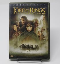 Lord of the Rings The Fellowship of the Ring Dvd 2 Disc Set Frodo