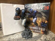 RARE Gears Of War 3 Full Color Edition Thrashball Cole Resin Statue