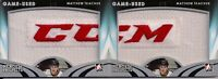 2015/16 ITG Heroes & Prospects Matthew Tkachuk Rookie/Patch Tag 2 Card Lot /2