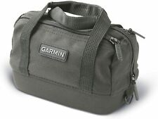 Garmin Carrying Black Bag with Straps and THREE zippers Hard Bottom