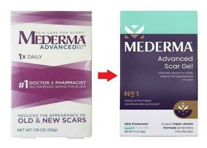 Mederma Advanced Scar Gel Cream Treatment 20g Skin Care Old & New Scars Yr 2023
